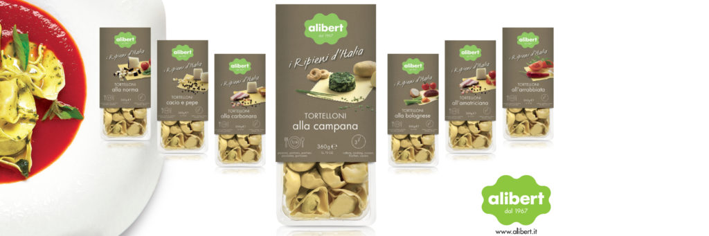 Alibert filled pasta