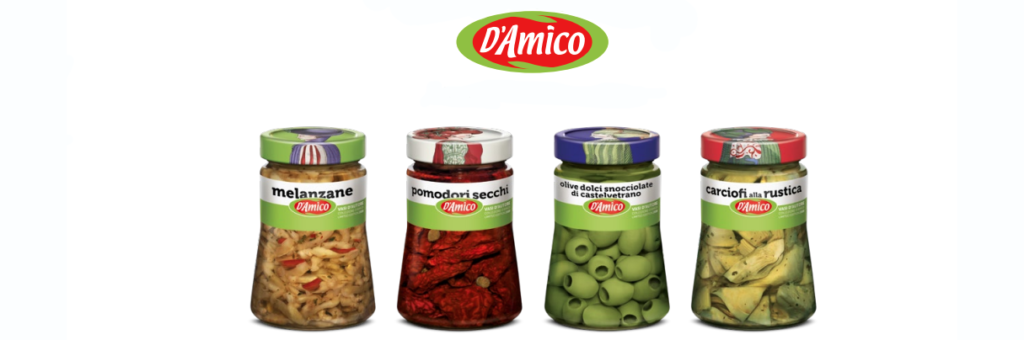 D'AMICO CANNED VEGETABLES